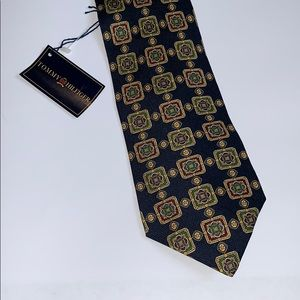 Tommy Hilfiger NWT Italian silk tie NEW preppy